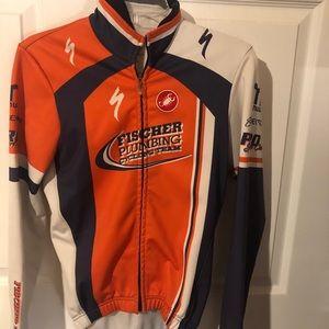Casttelli cycling Full ZIP Jacket jersey size XS